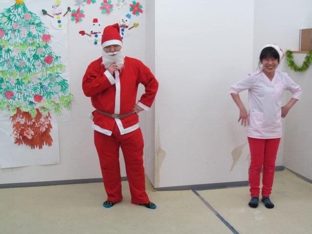 サンタクロース登場